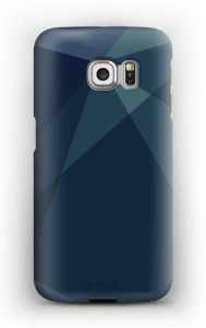 Blue case Galaxy S6 Edge