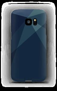 Blue kuoret Galaxy S7 Edge