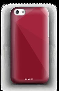 Red case IPhone 5c