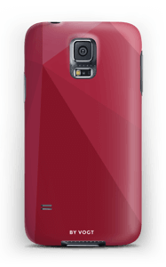 Red deksel Galaxy S5
