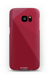 Red deksel Galaxy S7 Edge