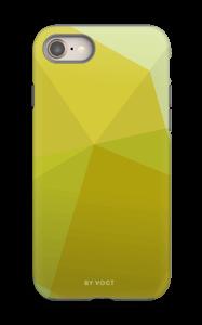 Yellow case IPhone 8 tough