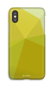 Yellow deksel IPhone X