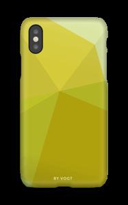 Triángulos Amarillos funda IPhone X