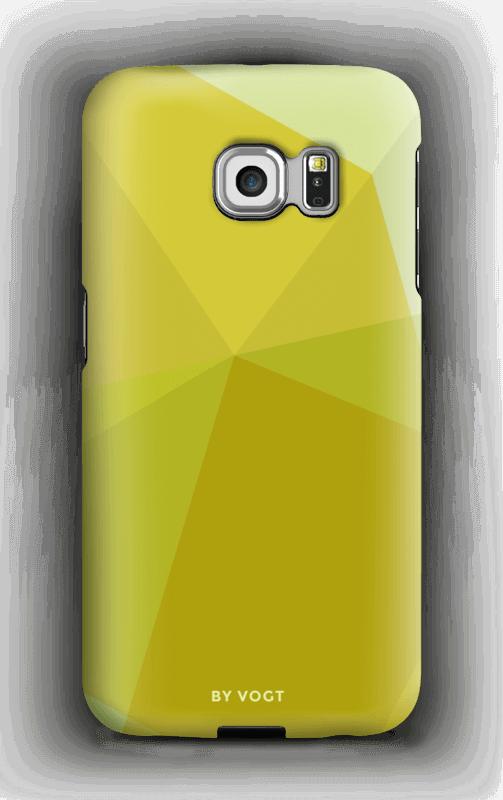 Yellow kuoret Galaxy S6 Edge