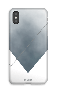 Silent Silver case IPhone X