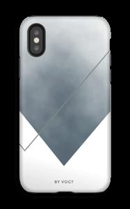 Silent silver kuoret IPhone X tough