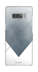 Silent silver cover Galaxy Note8