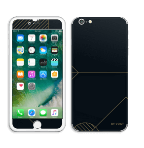 Black and Gold  Skin IPhone 6 Plus