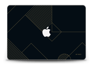 "Black and Gold  Skin MacBook Pro Retina 15"" 2015"