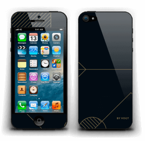 Gold Ride Skin IPhone 5