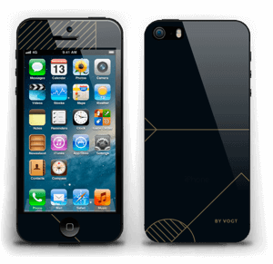 Gold Ride Skin IPhone 5s