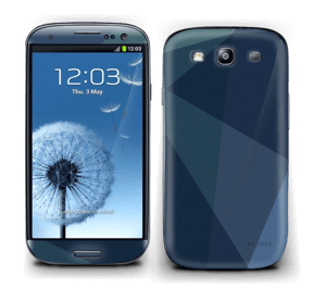 Blue Skin Galaxy S3