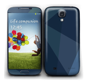 Dark blue Skin Galaxy S4