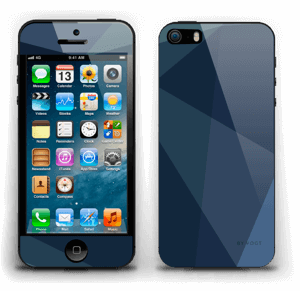 Blue Skin IPhone 5s