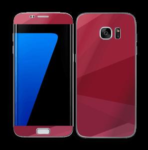 Burgundy Skin Galaxy S7 Edge