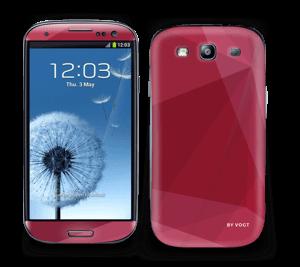 Burgundy Skin Galaxy S3