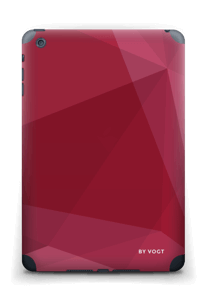 Burgundy Skin IPad mini 2 back
