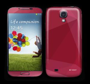 Burgundy Skin Galaxy S4