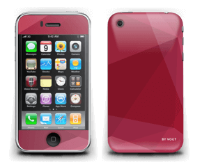 Burgundy Skin IPhone 3G/3GS