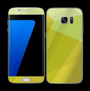 Yellow Skin Galaxy S7 Edge