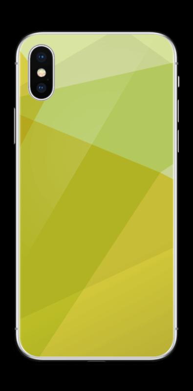 quality design 5ea60 83cf7 Yellow - iPhone X skin