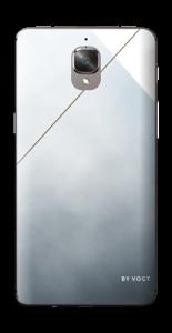Geometría en dorado Vinilo  OnePlus 3
