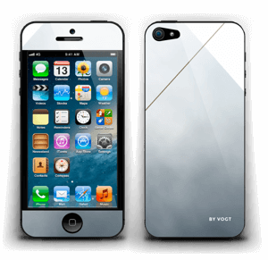 Silent Gold Skin IPhone 5