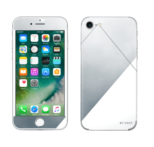 Silent silver Skin IPhone 7