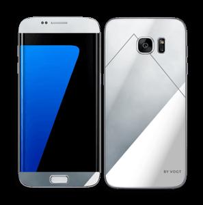 Silver Skin Galaxy S7 Edge