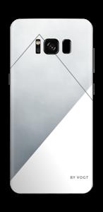 Leises Silber Skin Galaxy S8