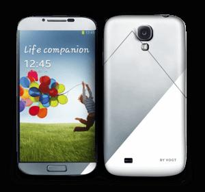 Silver Skin Galaxy S4
