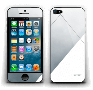 Silver Skin IPhone 5
