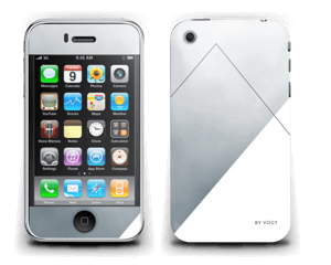 Silent silver  Skin IPhone 3G/3GS