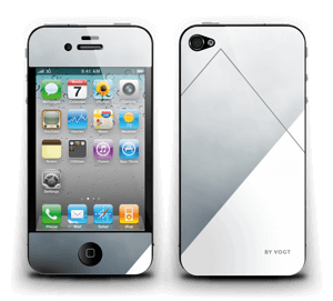 Silent Silver Skin IPhone 4/4s