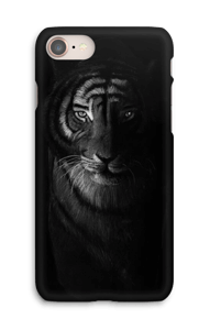 Tiger in the dark cover IPhone 8