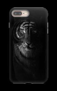 Tiger in the dark kuoret IPhone 8 Plus tough
