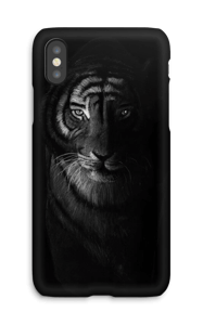 Tiger in the dark kuoret IPhone X