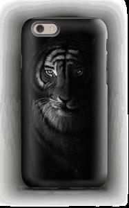 Tiger in the dark case IPhone 6 tough