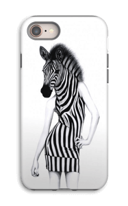 Party Zebra case IPhone 8 tough