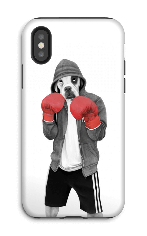 Street boxer skal IPhone X tough