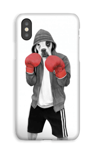Street boxer deksel IPhone XS