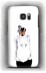 Schwanenfrau Handyhülle Galaxy S7