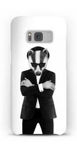 Blues badger skal Galaxy S8