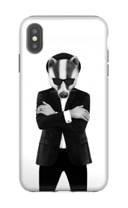 Blues badger cover IPhone XS Max tough