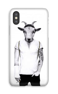 Hipster goat skal IPhone X