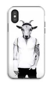 Hipster goat skal IPhone X tough