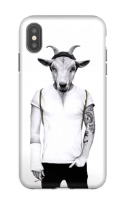 Hipster goat skal IPhone XS Max tough
