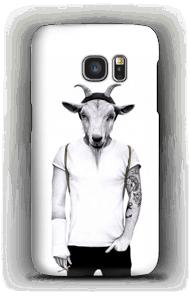 Hipster Ziege Handyhülle Galaxy S7