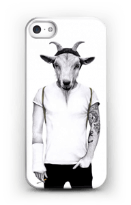 Hipster Goat case IPhone SE
